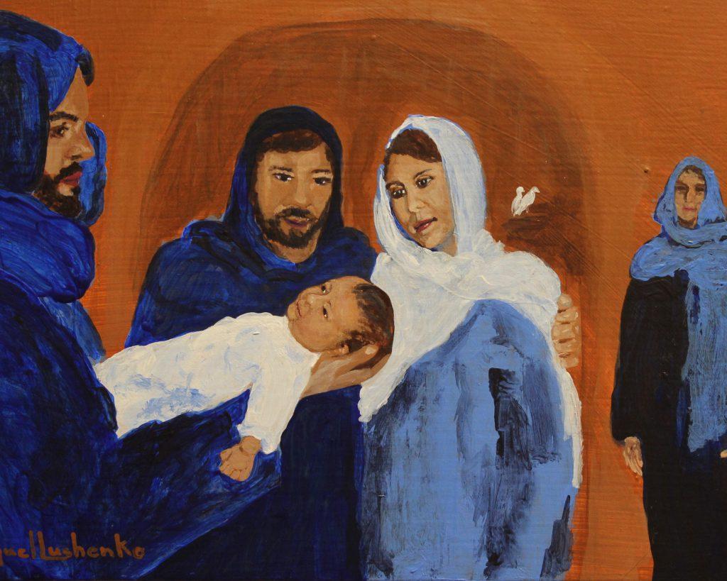 Luke 2.30-8x10